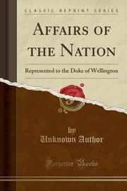 Affairs of the Nation, Author Unknown