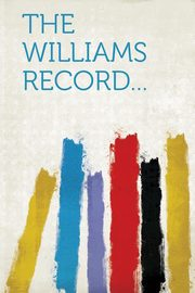 The Williams Record..., Hardpress