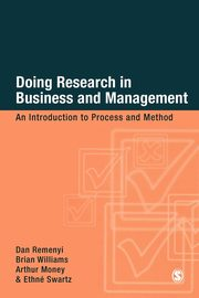 Doing Research in Business & Management, Remenyi Dan