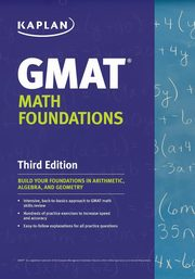 Kaplan GMAT Math Foundations, Kaplan