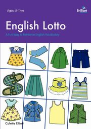 English Lotto. a Fun Way to Reinforce English Vocabulary, Elliott Colette