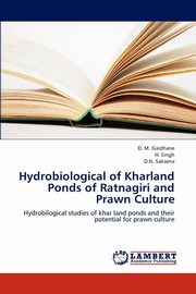 Hydrobiological of Kharland Ponds of Ratnagiri and Prawn Culture, Gaidhane D. M.