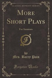 More Short Plays, Pain Mrs. Barry