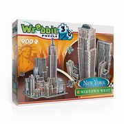 Puzzle 3D Wrebbit New York Midtown West 900,