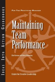 Maintaining Team Performance, Kanaga Kim