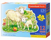 Puzzle MAXI Konturowe:	Cows on a Meadow12,