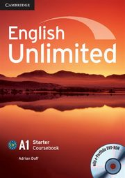 English Unlimited Starter Coursebook with e-Portfolio, Doff Adrian