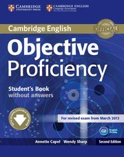 Objective Proficiency Student's Book without answers, Capel Annette, Sharp Wendy