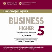 Cambridge English Business Higher 5 Audio CD,