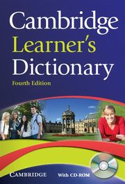 Cambridge Learner's Dictionary with CD-ROM,