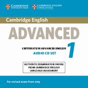 Cambridge English Advanced 1 CD,