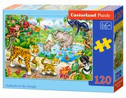 Puzzle Animals in the Jungle 120,