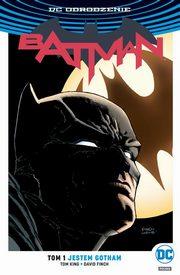 Batman Tom 1 Jestem Gotham, King Tom, Snyder Scott