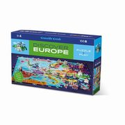 Puzzle odkrywcy Europa 100,